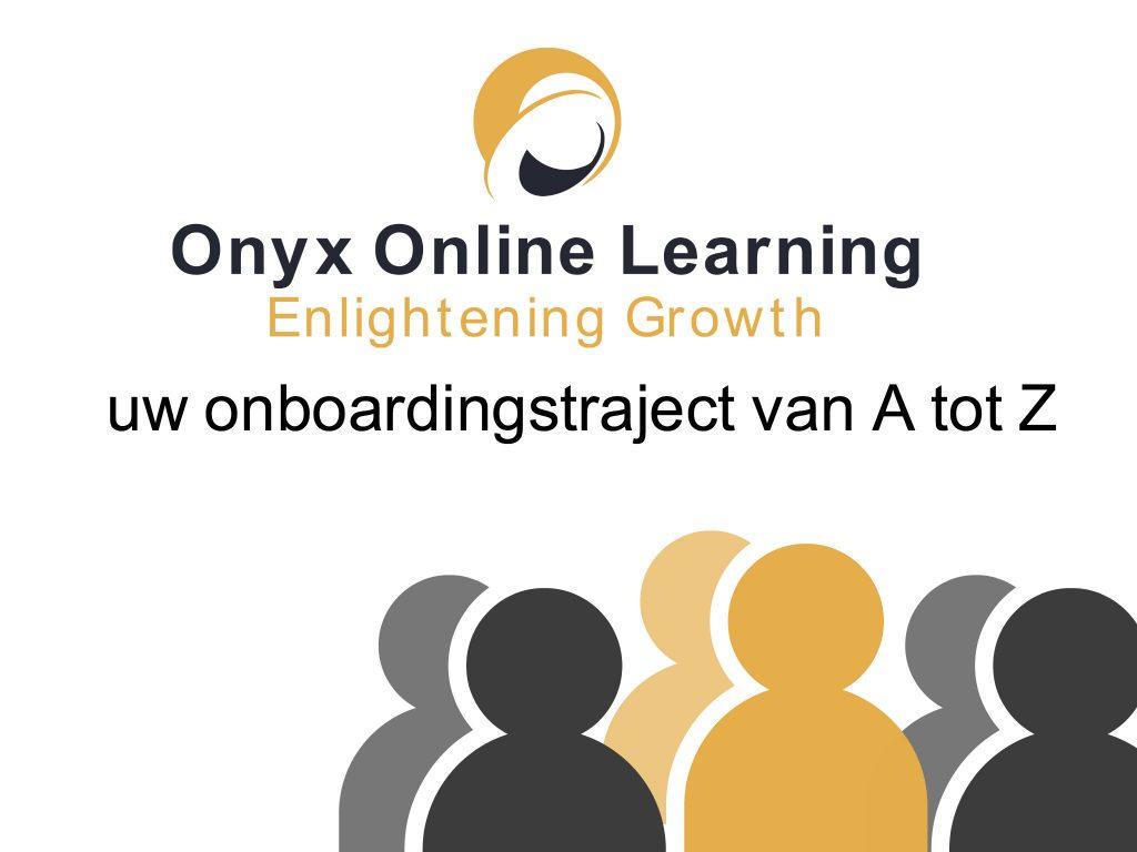 portal voor onboarding- inductie van nieuwe werknemers