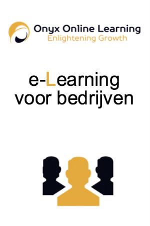 e-Learning voor bedrijven Onyx Online Learning