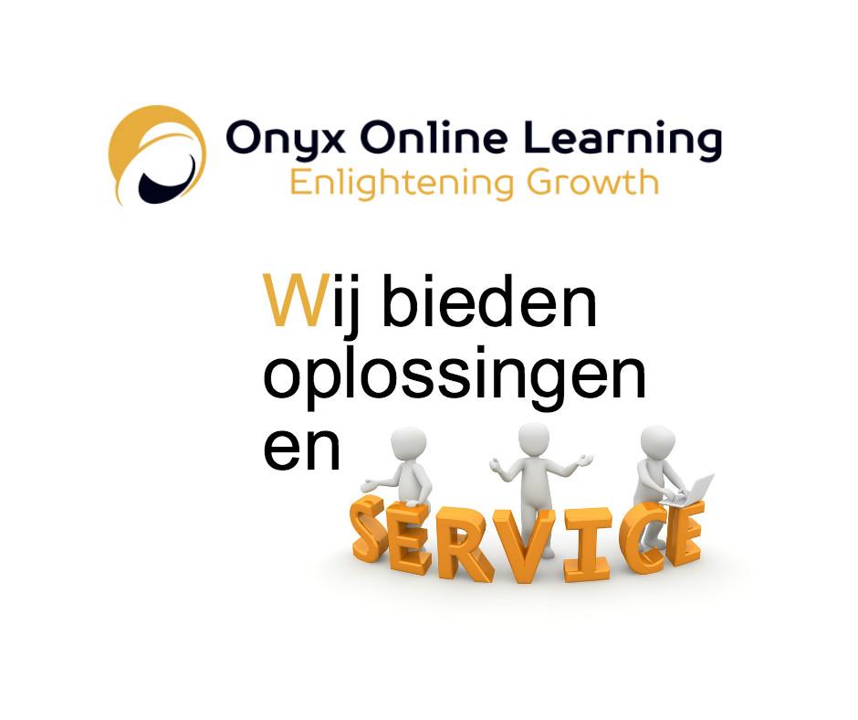 Onyx LMS oplossingen en Service