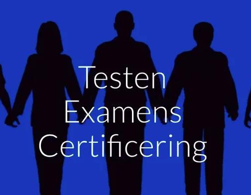 Testen, examens en certificering Onyx
