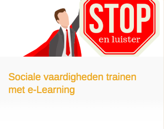 Sociale vaardigheden traienen met e-Learning